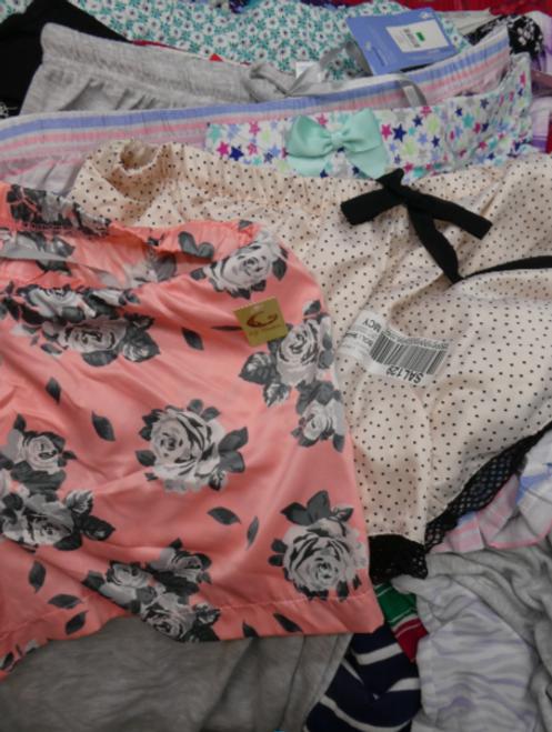 25pc Grab Bag Designer PJ BOTTOMS #15391z (o-2-4)