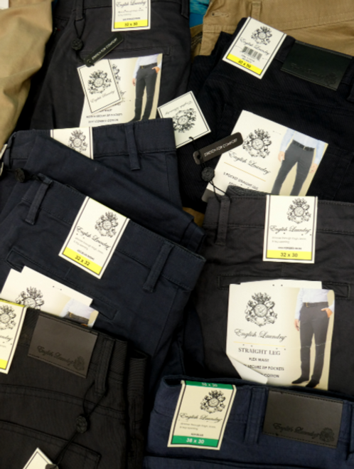 10pc MENS English Laundry Dress Pants #15734R (o-4-4)