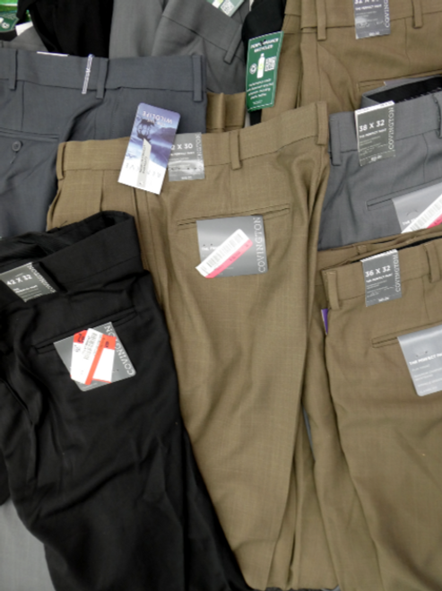3pc MENS Grab Bag Covington Dress Pants #15744R (q-1-3)