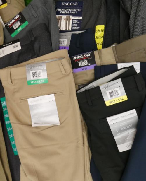 3pc MENS Dress Pants HAGGAR Kirkland & More #15745R (o-3-5)