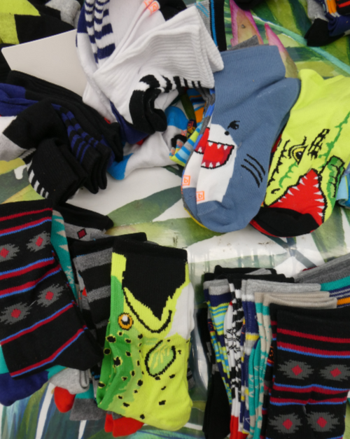 5 SETS = 30 Pairs Kids Designer Socks #15778w (d-1-1)