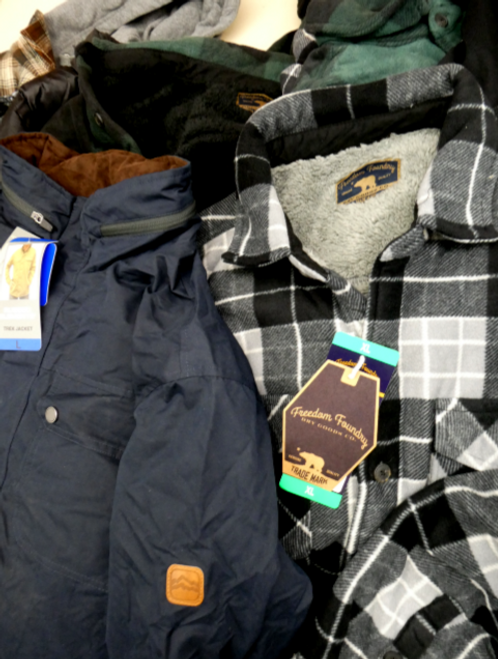 6pc Grab Bag MENS Designer Coats & Jackets #15904KY (g-1-4)