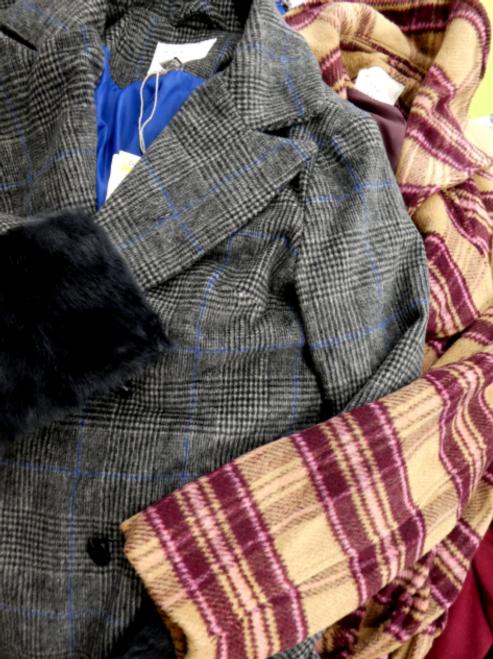 5pc Peacoats & Double Breasted Coats #15909KY (D-4-2)