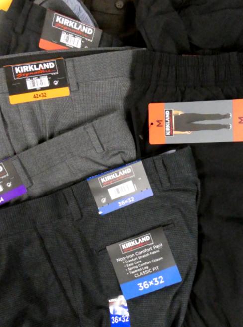 13pc KIRKLAND MENS Pants #16080BH (p-2-1)