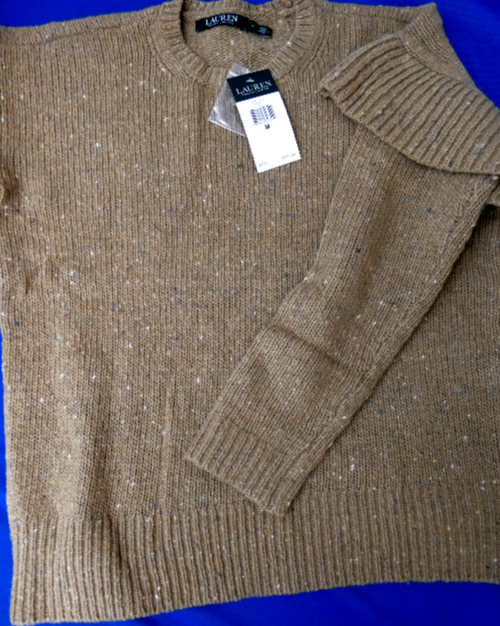 10pc $1,595 in RALPH Sweaters *duplicates #16342C (m-4-5)