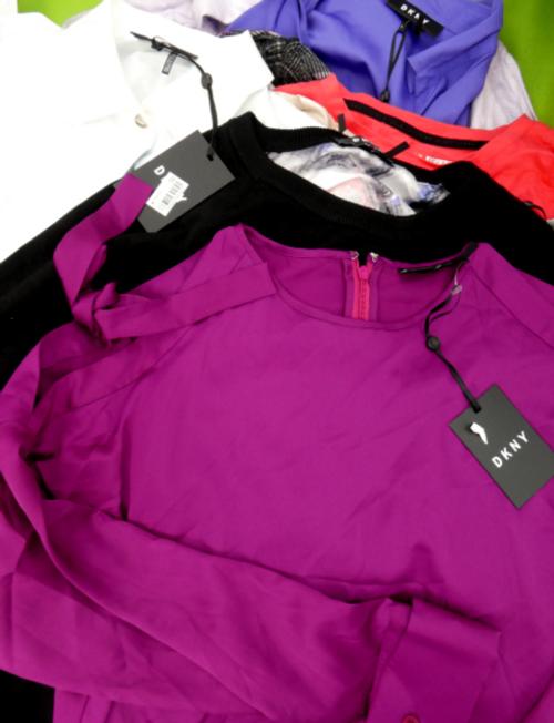 3pc Grab Bag DKNY Womens TOPS #16345C (v-4-3)