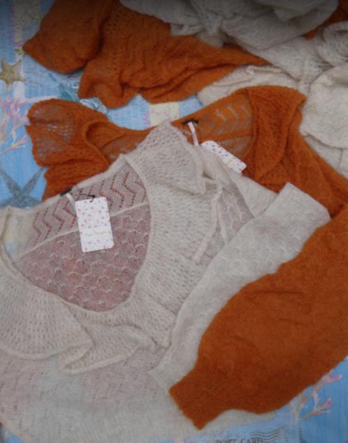 7pc $1,176 in FREE PEOPLE Sweater *duplicates* #16416F (i-5-4)