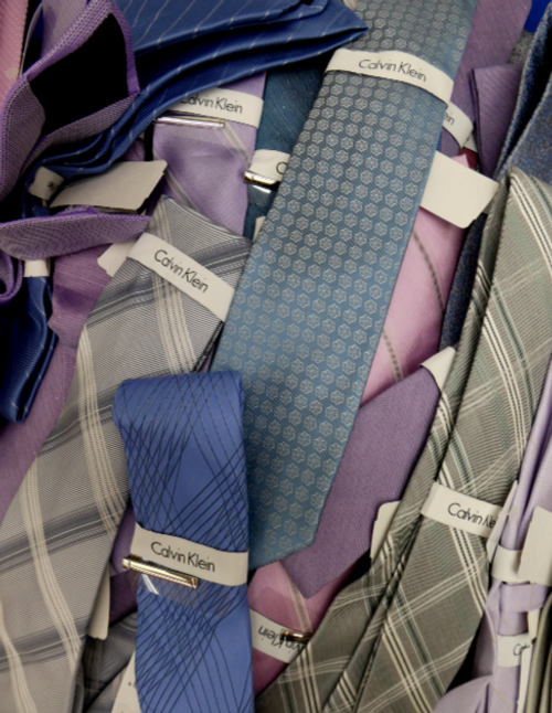 17pc $1,190 in MENS CK Neckties & SETS #16779i (p-2-5)