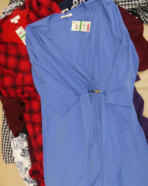 9pc CHARTER CLUB Karen Scott DRESSES #16823k (o-2-4)