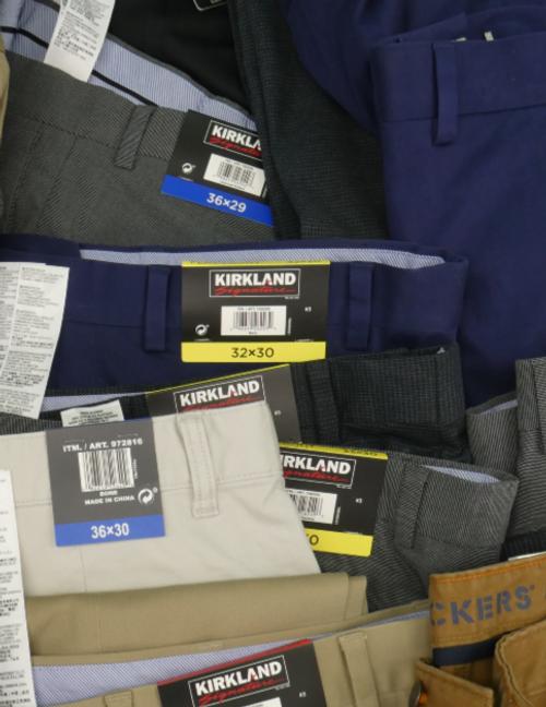 37pc MENS Designer Dress Pants / Slacks #16916R (n-1-6)