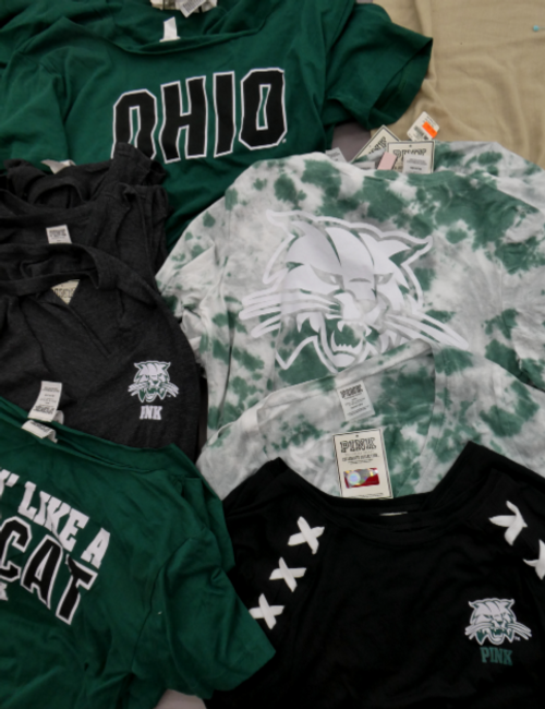 14pc VS Ohio BOBCATS Tees #16893P (g-5-3)