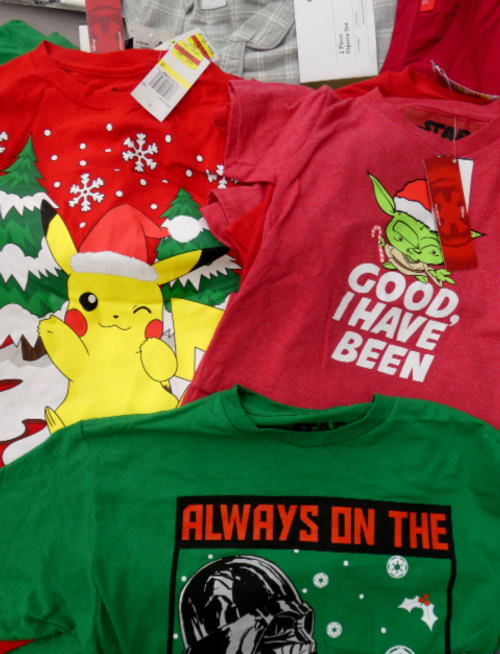 21pc KIDS Holiday CHARACTER Graphic Tees #16975u (m-5-5)