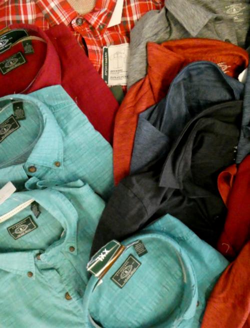 20pc GH BASS Polo Shirts & Button-Ups #16859N (m-1-6)