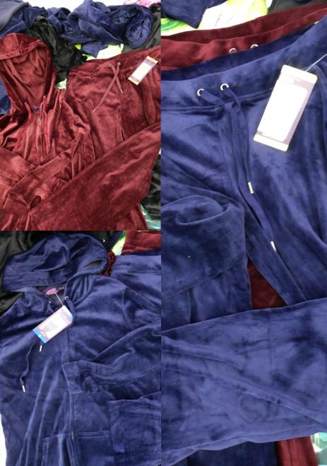 30pc Vanderbilt Velour Zip Hoodies & Sweatpants #17094B (i-4-7)