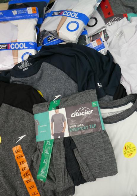 20+pc MENS Dri-Fit Shirts GLACIER Speedo #17188i ()