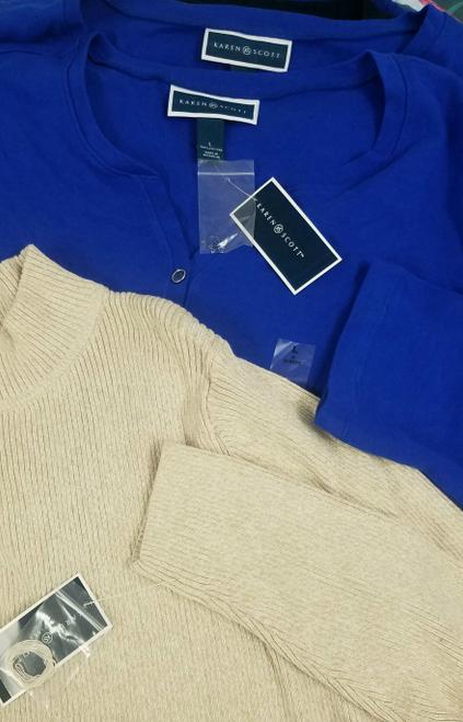 24pc KAREN SCOTT Tees Tops Sweaters #17540E (P-2-3)