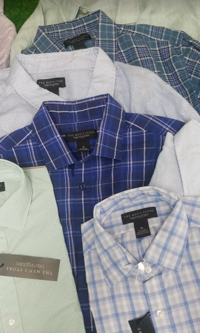 17pc $1,530 in MENS Big Brand ButtonUps #17617i (H-1-3)