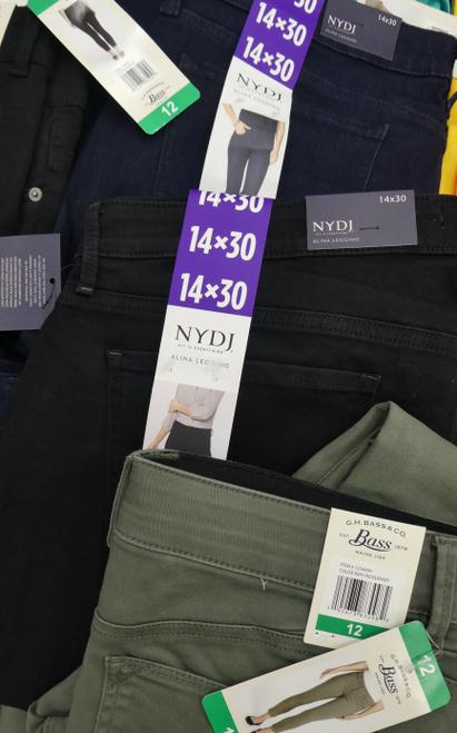 21pc Jeans NYDJ Sanctuary BUFFALO GH BASS #17717N (H-5-6)