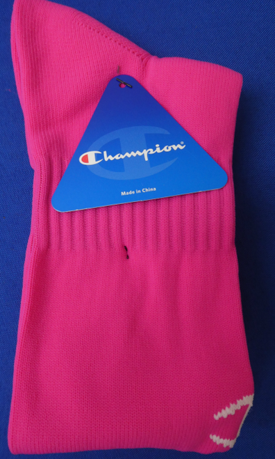 4 Pairs Grab Bag CHAMPION Sports Socks PINK #17965u (i-5-4)