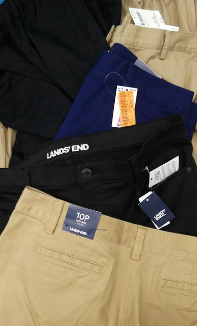 14pc $630 in LANDS END Womens Khakis & Slacks #17996V (M-1-7)