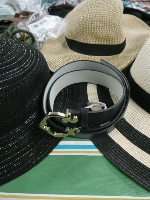 29pc Real Leather BELTS & Sunhats GILI Mizrahi C WONDER #18377u ()