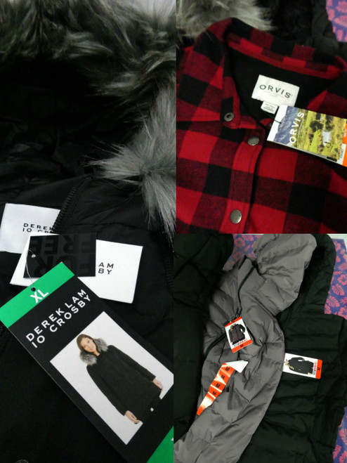 21pc Derek Lam ORVIS Buffalo ANDREW MARC & More COATS  #18385u ()