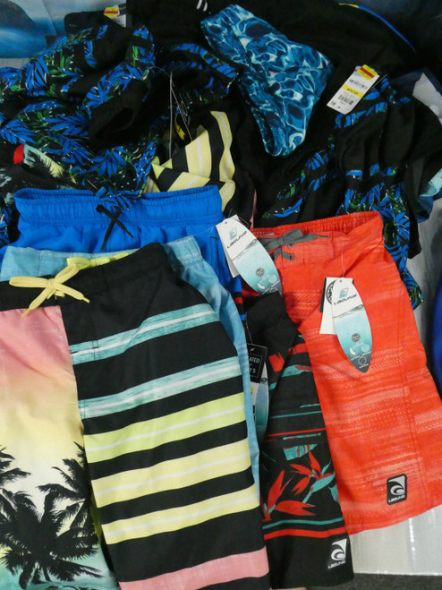 23pc BOYS Laguna & Ideology Swim Trunk Shorts #18326x (N-1-5)