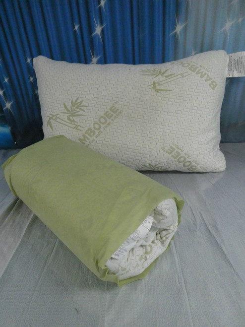 1pc Bamboo Memory Pillow **MEDIUM FIRM** #18420E (N-3-3)