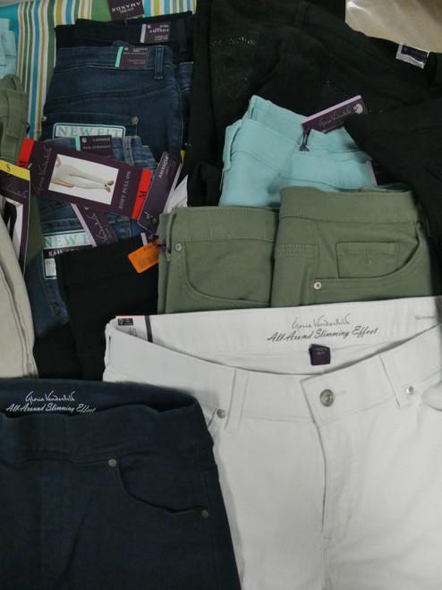 19pc Vanderbilt Slimming Jeans & Capris #18498J (V-5-1)