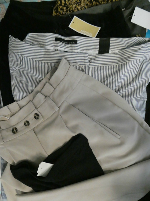 17pc Womens Pants KORS & More #18684Y (i-1-1)