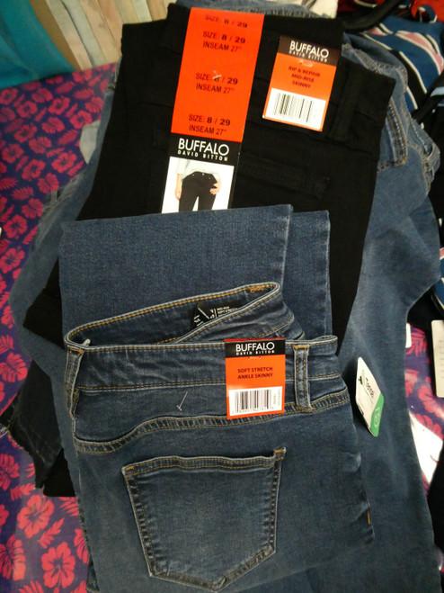 21pc Womens BUFFALO Jeans & Shorts #19143J (M-5-7)