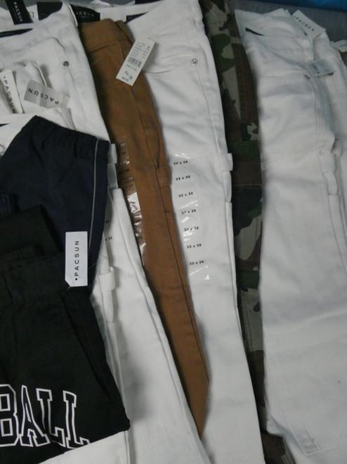 17pc PACSUN Carpenter & Cargo Pants BASKETBALL SKATEBOARDS #19452H (M-5-1)