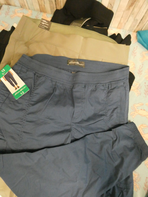 14pc Eddie Bauer WEATHERPROOF Womens Active Pants #19514N ()