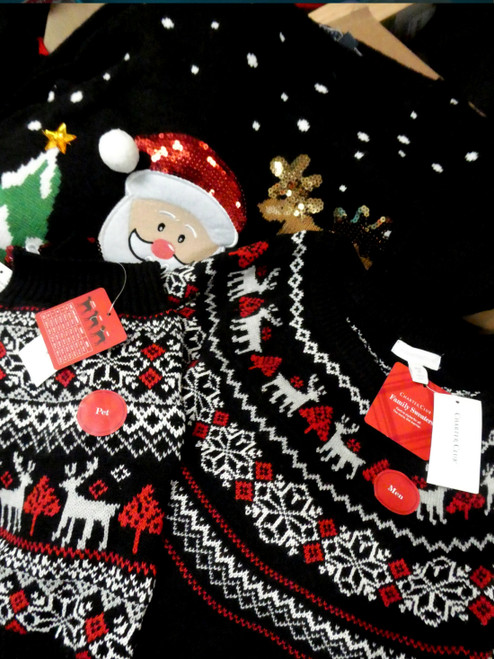 39pc M*CYS Family CHRISTMAS HOLIDAY Matching Sweaters #19632x  ()