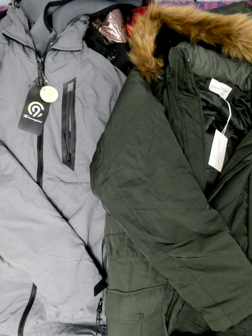 6pc Juniors Coats + Jacket Systems CHAMPION &More #19958z ()