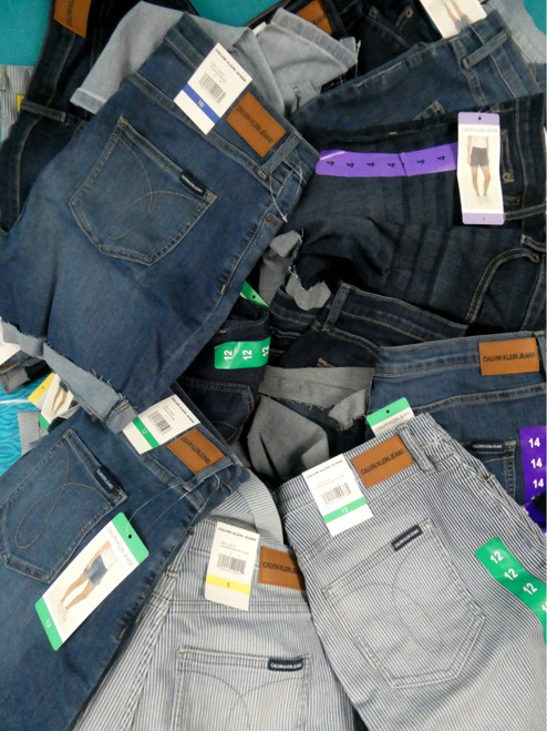 42pc *ONLY CK* Shorts & Jeans #20040H (H-5-5)