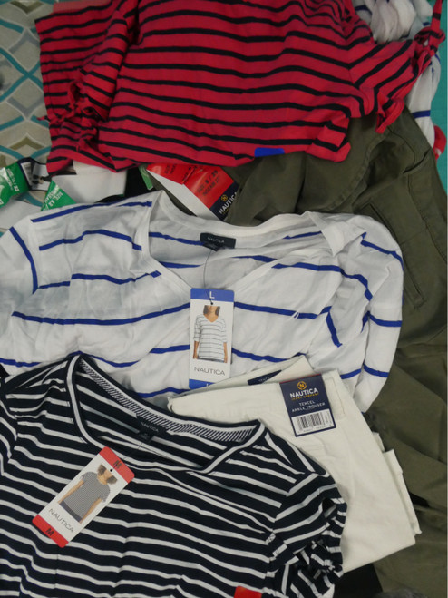23pc *ONLY NAUTICA* Womens Clothing #20047H (I-5-2)