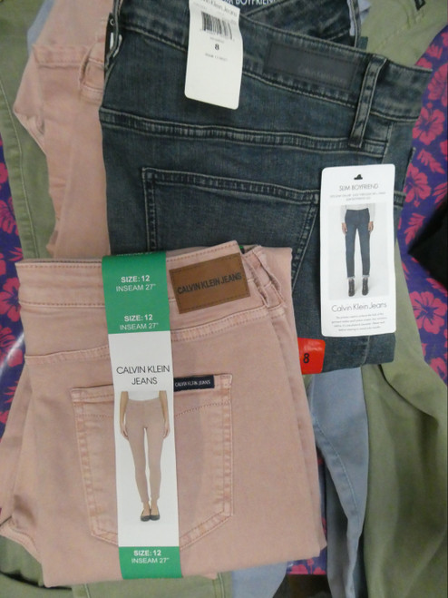 10pc Womens *ONLY CK* Jeans Pants #20050H (n-1-3)