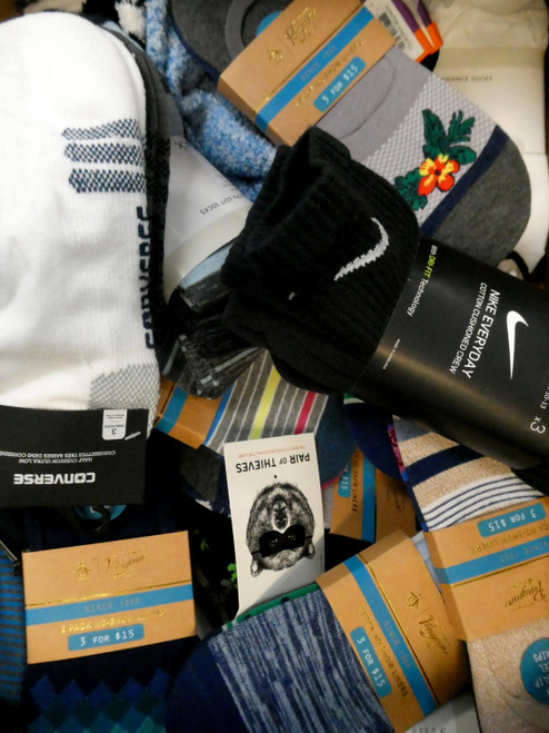 36 SETS = 81+pc MENS Socks SETS Nike PUMA Penguin #20195v (N-3-3)