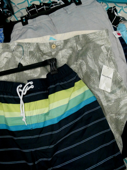 14pc MENS Shorts & Swim TOM BAHAMA Penguin #20203w (L-2-2)