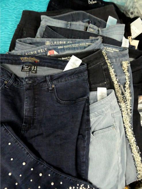 14pc Womens Jeans! LEVI Laurie Felt NYDJ #20230Y ()