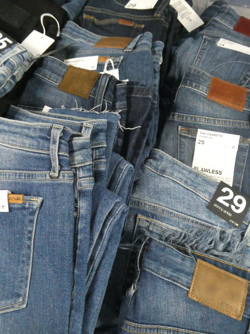 30pc Womens *ONLY JOES BRAND* Jeans ~ SOME IMPERFECT #20284ef (XX-)