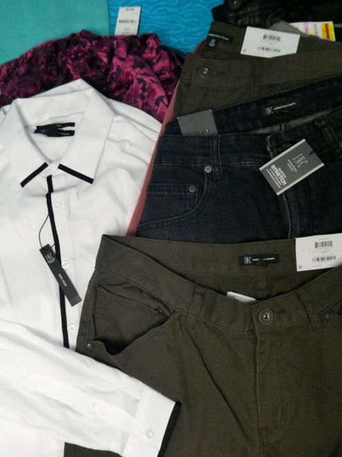 23pc MENS *ONLY INTERNATIONAL CONCEPTS* Clothing #20319e ()
