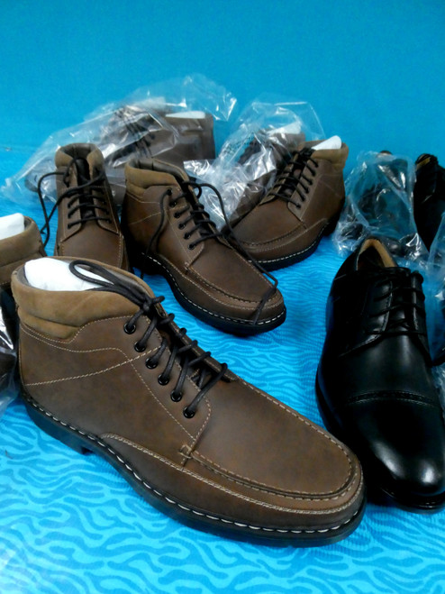 8prs MENS *ONLY DOCKERS* Dress Shoes #20442N ()