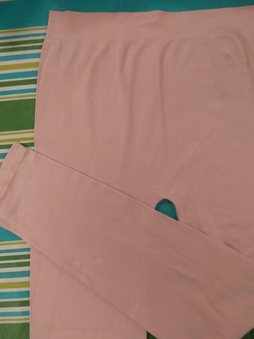 12pc PLUS SIZE Light Pink Leggings ~ Duplicates #20473Q (L-2-3)