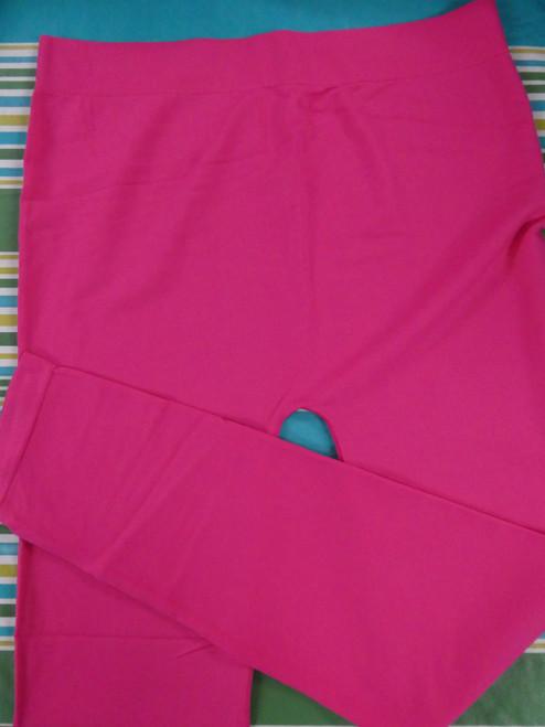 12pc PLUS SIZE Bubblegum Pink Leggings ~ Duplicates #20474Q (P-1-5)