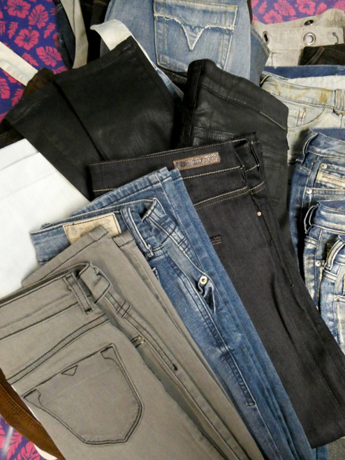 30pc Womens *ONLY DIESEL BRAND* Jeans #20563v ()