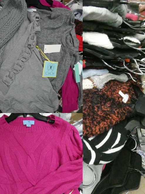 25pc Grab Bag BIG STORE Tops & Sweaters #20602z (B-4/3-3)