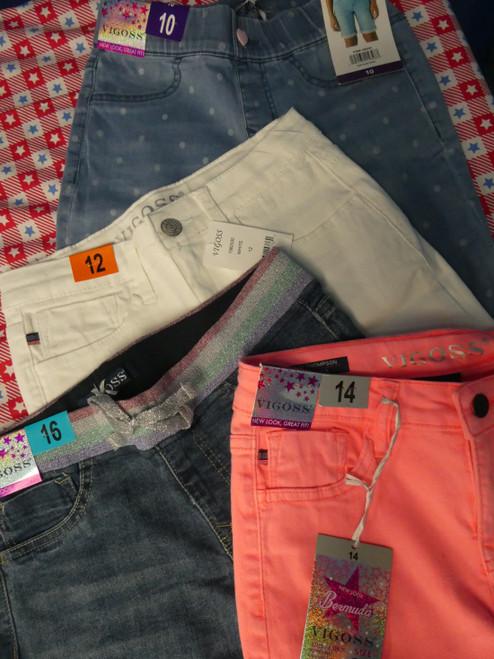 19pc Grab Bag GIRLS Vigoss Shorts #20634c (b-4-5)