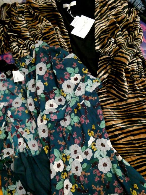 4pc BIG STORE Womens Long Jackets #20666E  ()
